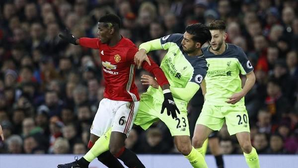 MU vs Liverpool Berakhir Imbang 1-1