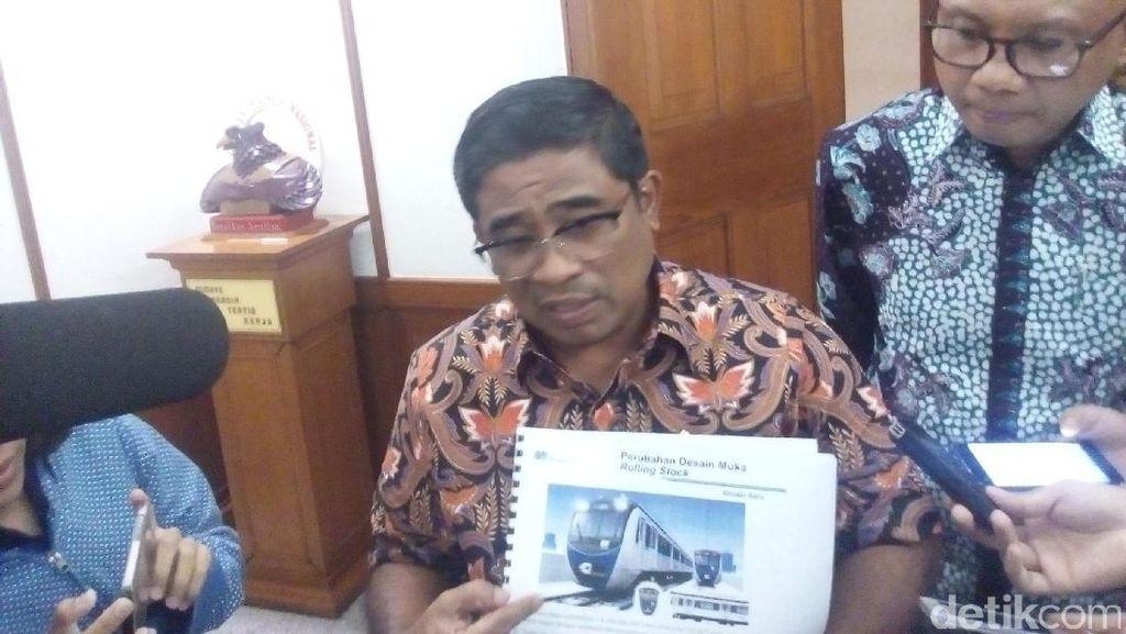 Kata Dirut MRT soal Desain Kepala Kereta yang Mirip Jangkrik