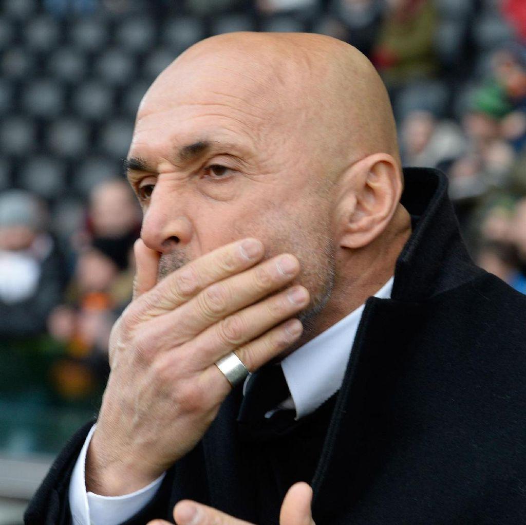 Kesal Ditanya soal Penalti, Spalletti: Roma Pantas Menang