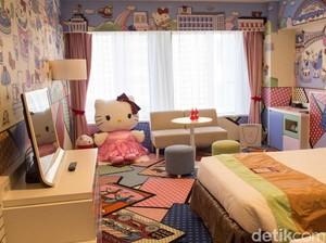 Kawaii! Keio Plaza Hotel Tokyo Punya Kamar Hello Kitty yang Lucu