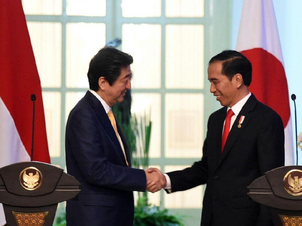 Presiden Jokowi: Terima Kasih Shinzo Abe, Sehat Selalu