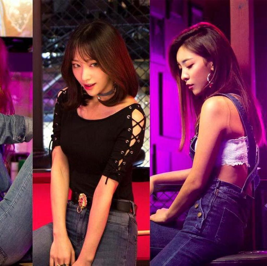 Koreografi Seksi Hani, Luna, dan Solar di Honey Bee