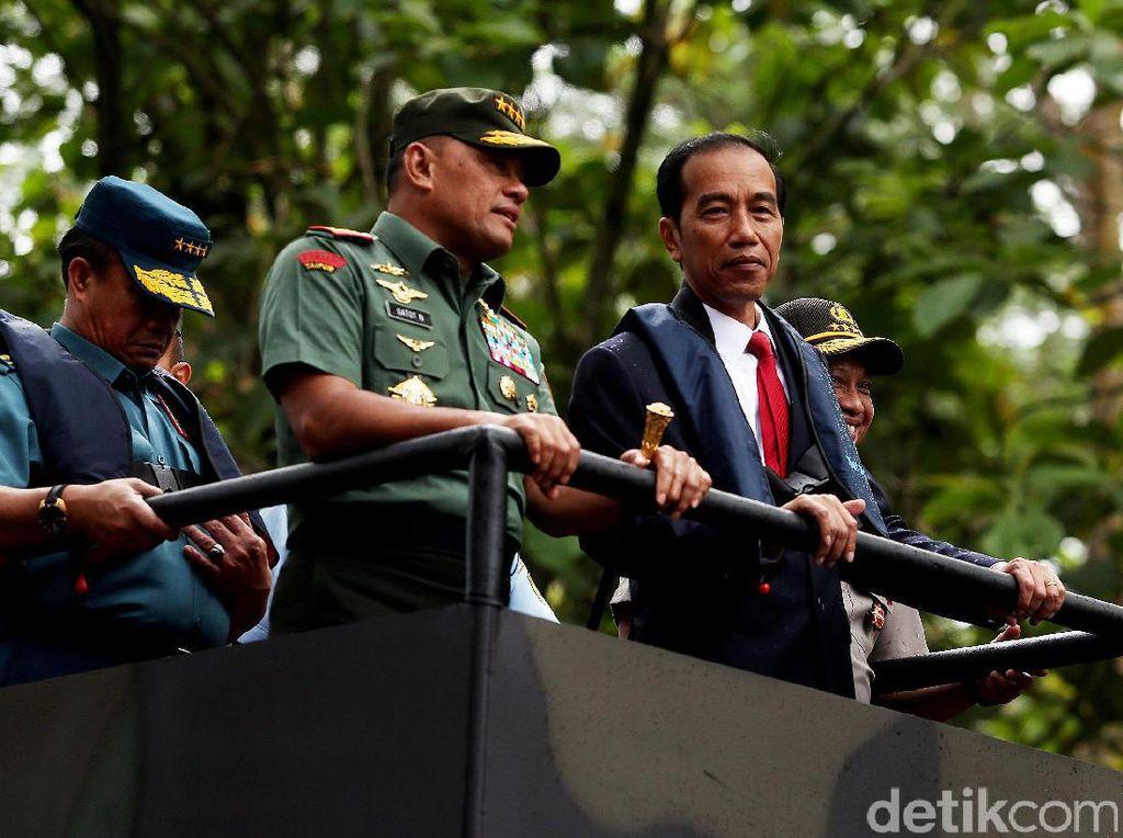TNI Rombak Jabatan 25 Perwira Tinggi, Ini Daftarnya