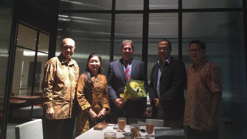 Bertemu Presiden ITF, Pelti Curhat soal Tenis Indonesia