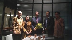 Bertemu Presiden ITF, Pelti <i>Curhat</i> soal Tenis Indonesia