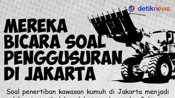 Mereka Bicara soal Penggusuran di Jakarta