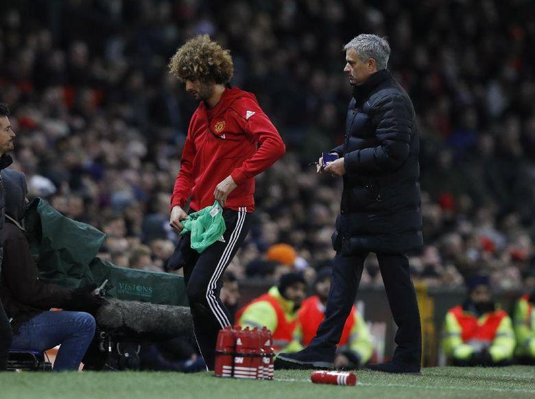 Keputusan Tepat Mourinho Memasukkan Fellaini