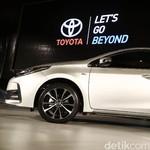 Pasar Sedan Kecil, Toyota Belum Berniat Bangun Corolla di RI