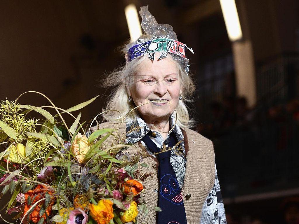 Menjaga Kulit di Usia 76 Tahun, Vivienne Westwood Mandi Seminggu Sekali