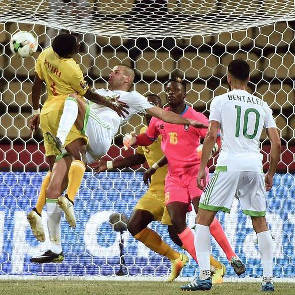 Aljazair Berimbang dengan Zimbabwe, Senegal Tekuk Tunisia