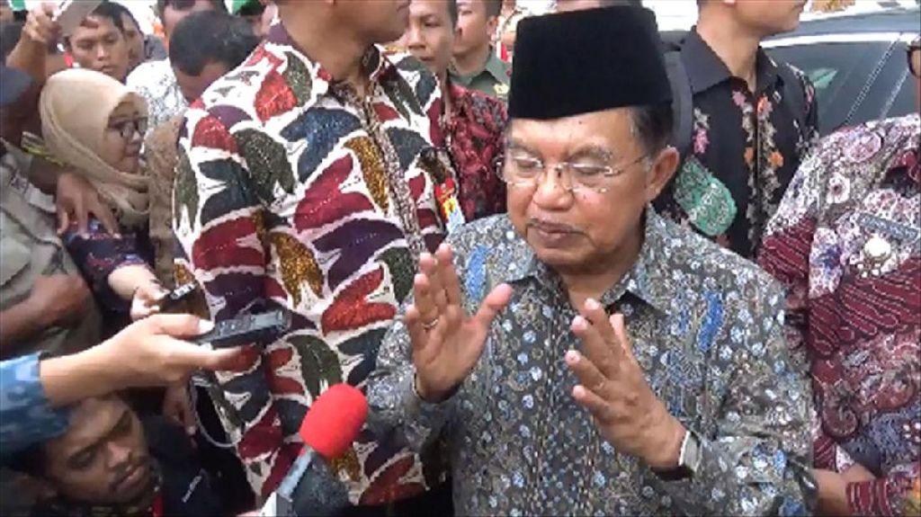 SBY Gundah Soal Hoax, JK: Itu Pandangan Pribadi, Kita Hargai