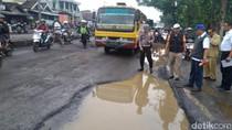 Jalan Rusak di Jawa Timur Sepanjang 158 Kilometer