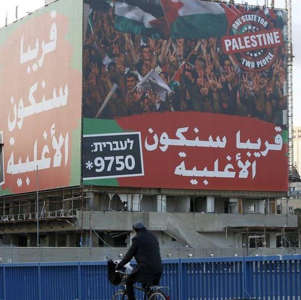 Dunia Teguhkan Solusi 2 Negara Israel-Palestina