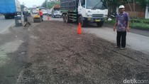 Jalan Rusak Akibat Banjir di Pasuruan Diperbaiki Usai Disidak