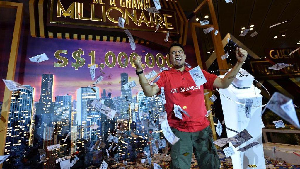 Selamat! Turis Indonesia Menang Rp 9 M di Bandara Changi