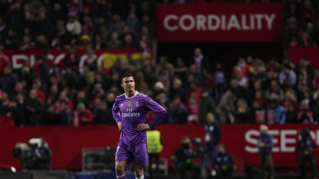 Ronaldo Paling Akrab dengan Gawang Sevilla