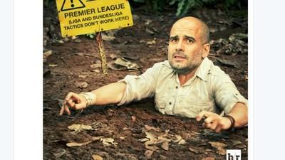 City Digunduli Everton, Guardiola Jadi Guyonan