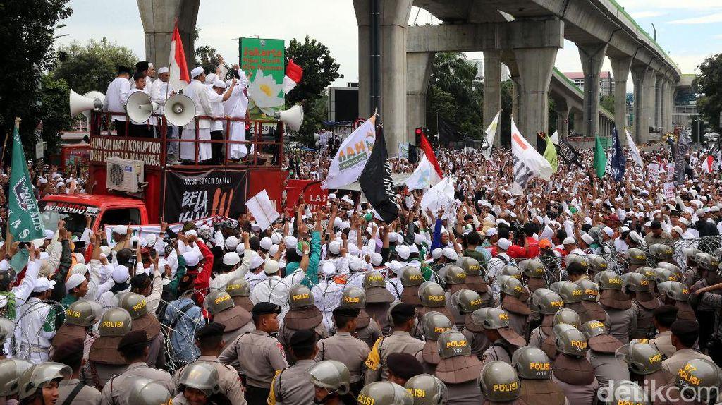 Ada Demo FPI, Polisi Imbau Pengendara Hindari Kawasan Semanggi