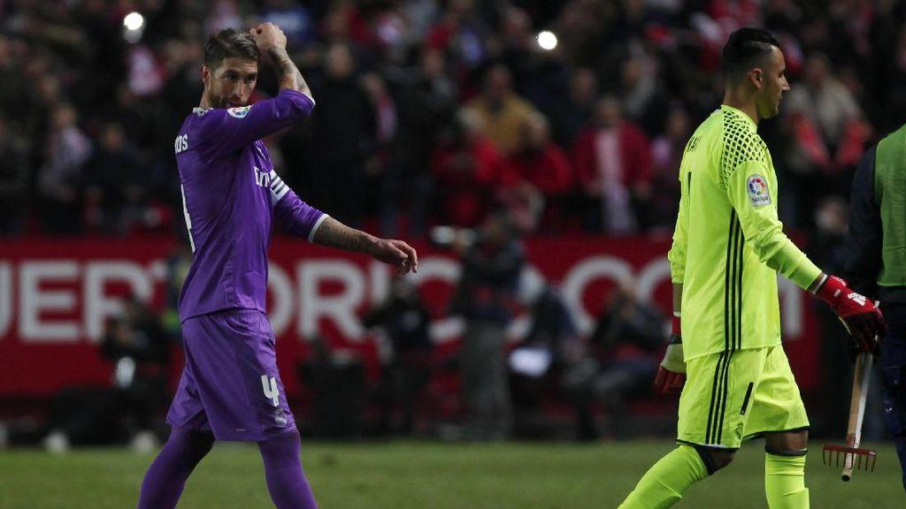 Navas Dikritik Usai Kalah dari Sevilla, Zidane Membela