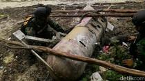 TNI AL dan Warga Temukan Benda Mirip Torpedo di Bintan Kepri
