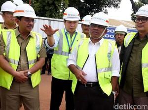 Plt Gubernur DKI Tinjau Pembangunan Velodrome Rawamangun
