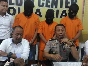 3 Pencuri Spesialis Rumah Mewah yang Gasak Rp 940 Juta Ditangkap