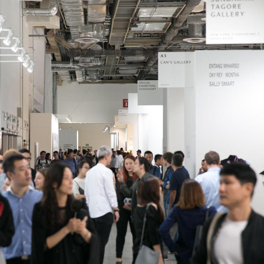 Art Stage Singapore 2017 Gaet 33.200 Pengunjung