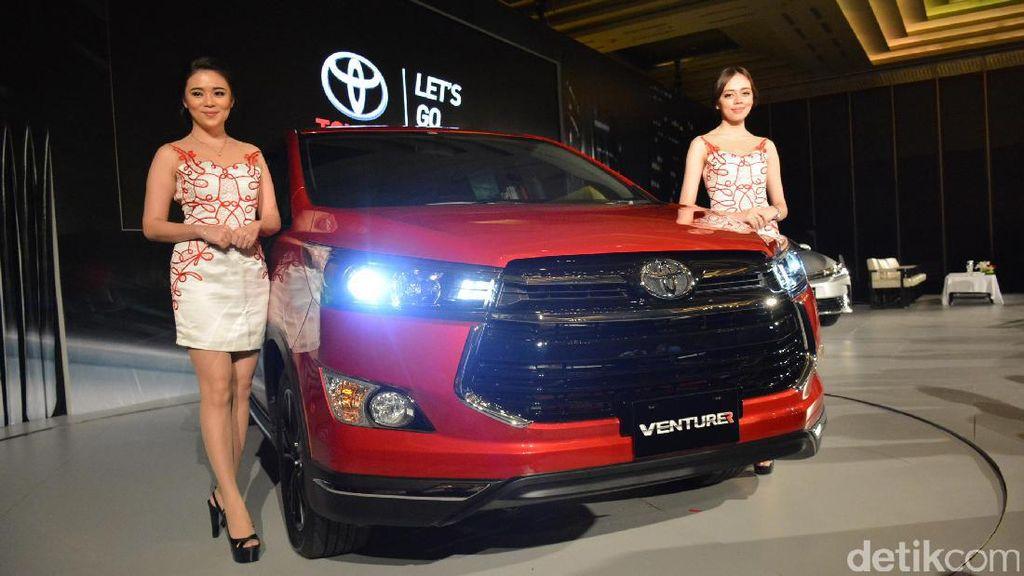 Toyota Venturer Punya Sistem Keamanan Lengkap
