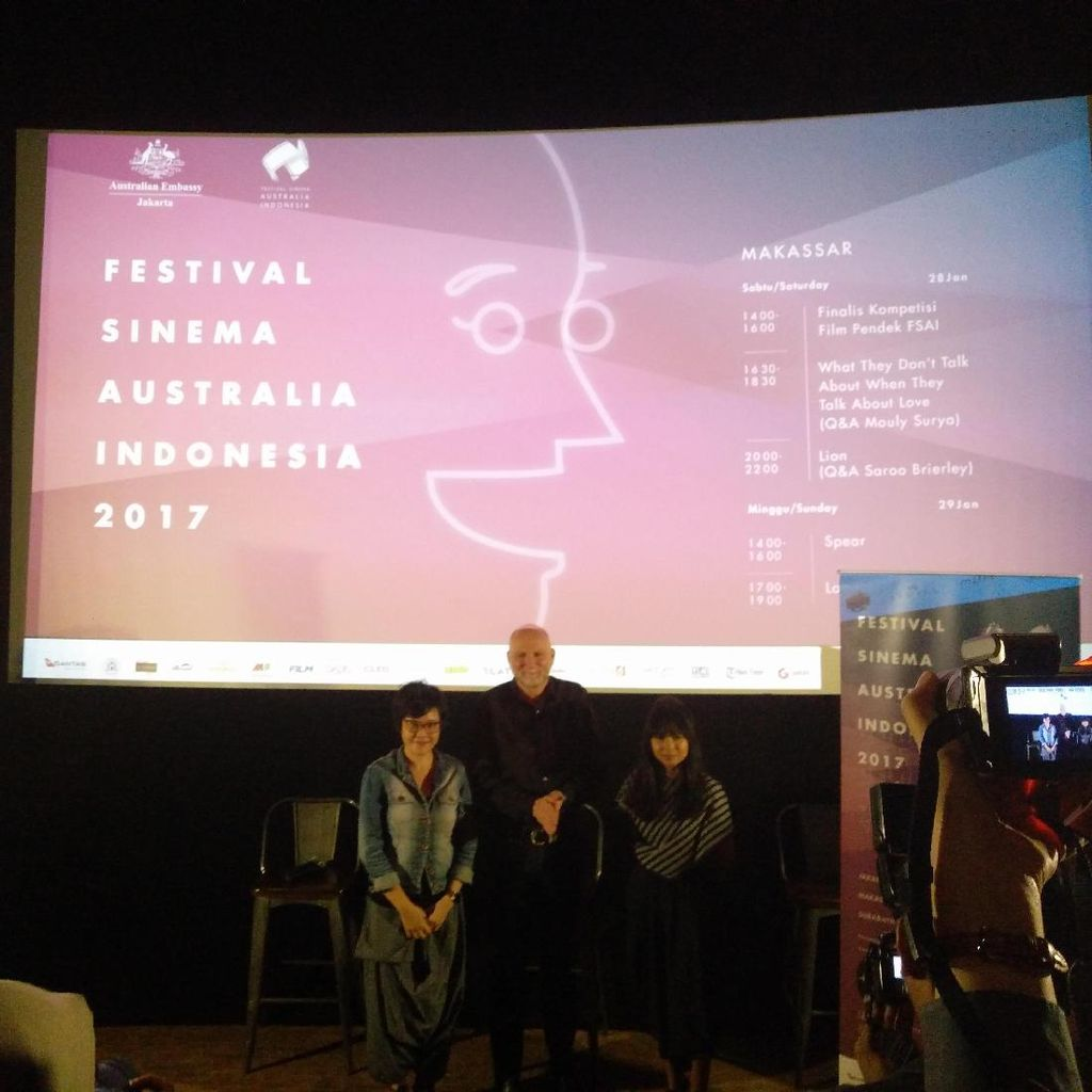 Festival Sinema Australia-Indonesia 2017 Digelar di 3 Kota