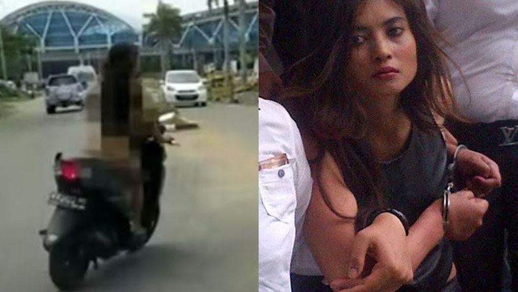 Heboh Aksi Telanjang Dona dan Novi Amelia Gara-gara Narkoba