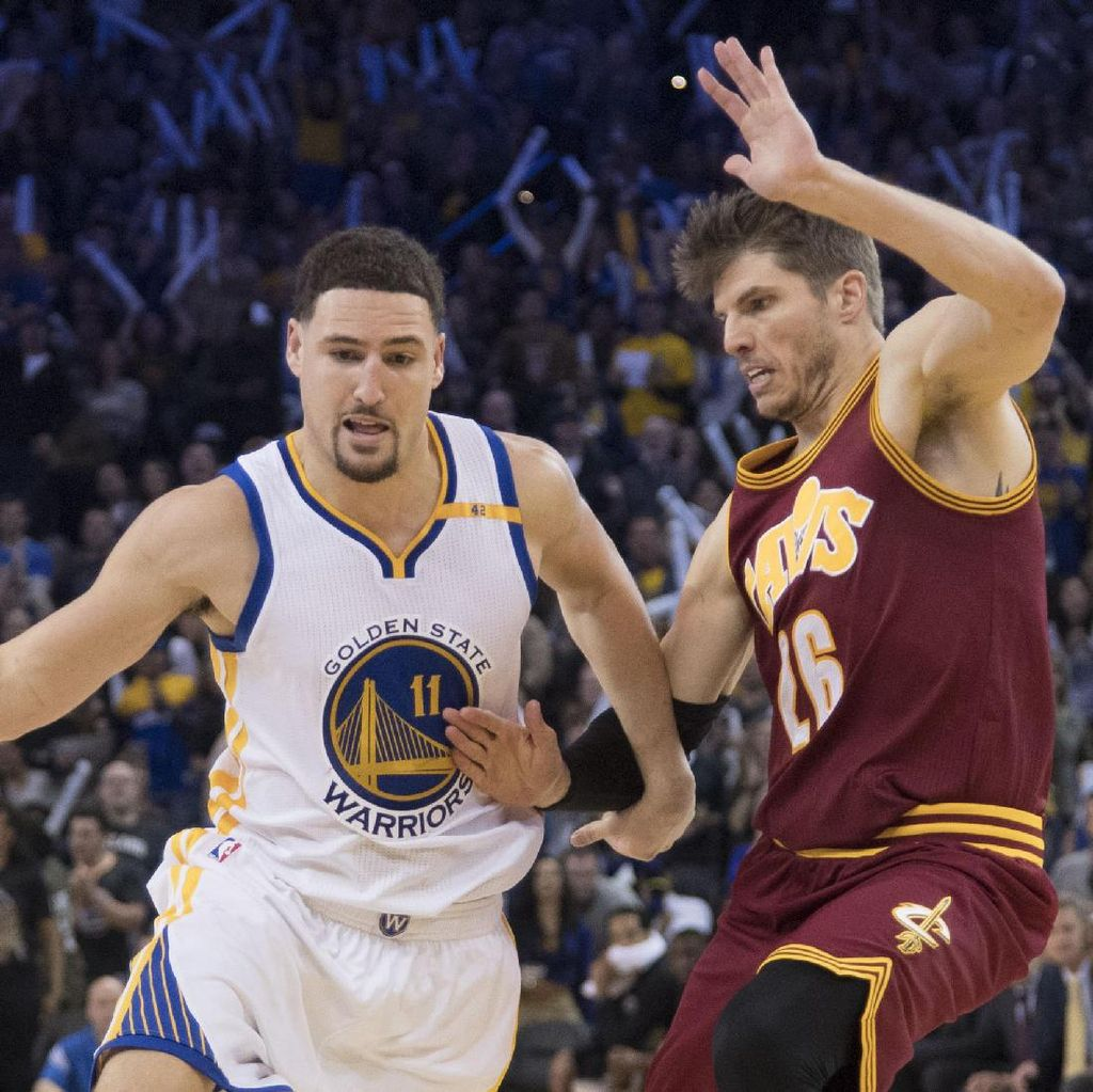 Warriors Libas Cavaliers 126-91