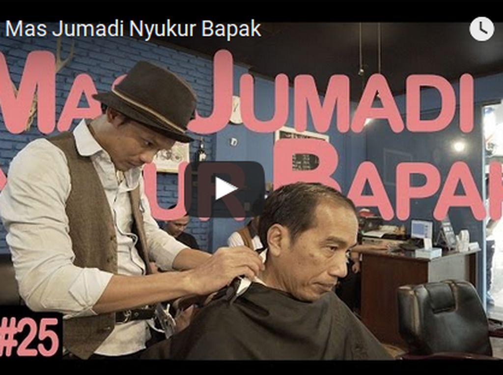 Cukur Rambut Jokowi Jadi Polemik, PPRG: Kami Tidak Berpolitik