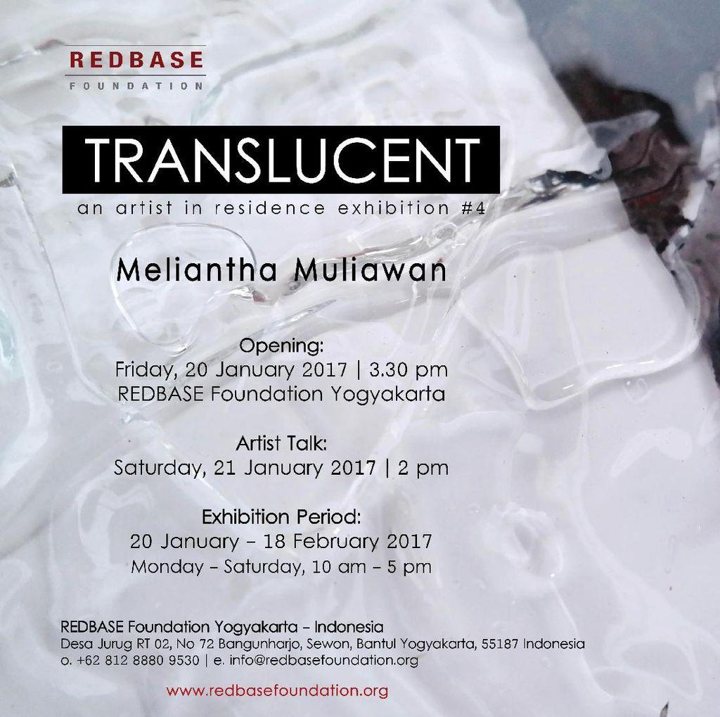 Seniman Meliantha Muliawan Pameran Tunggal di REDBASE Foundation Yogyakarta