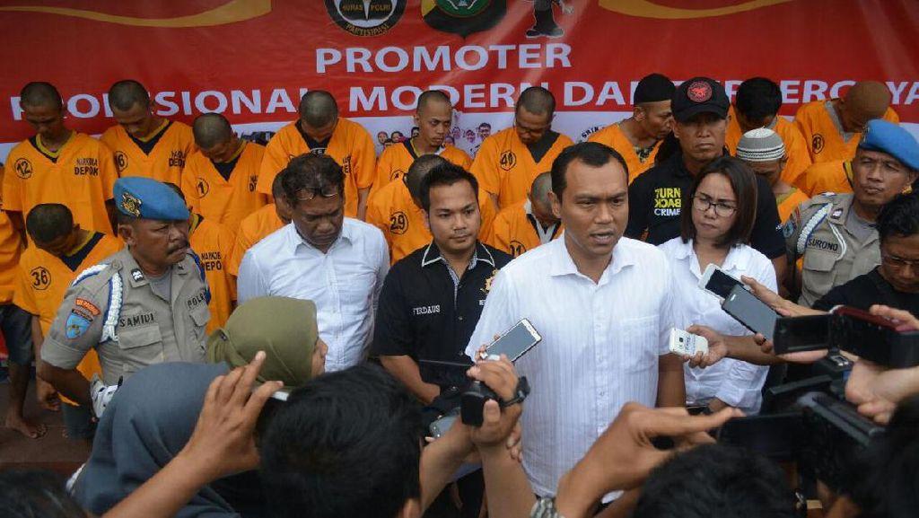 Polres Depok Tangkap 27 Pelaku Narkoba Selama Januari 2017