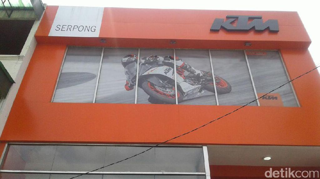 KTM Resmikan Diler Anyar di Serpong