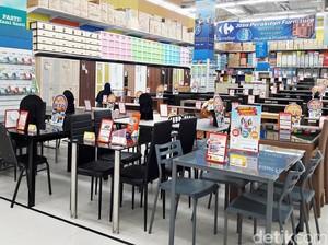 Promo Aneka Meja Kursi Makan di Transmart dan Carrefour