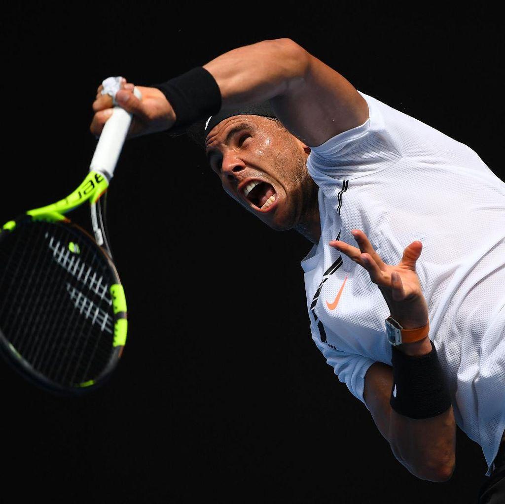 Nadal dan Raonic Lewati Babak Pertama