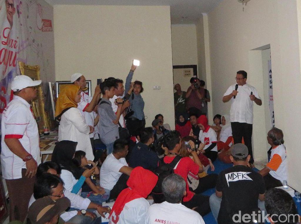 Kampanye Anies di Gambir DihadiriAnggota Partai Asal Malaysia