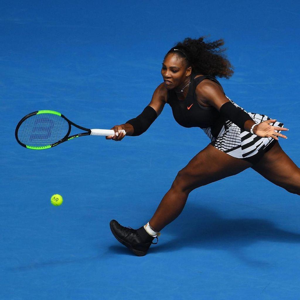 Serena Lewati Rintangan Pertama