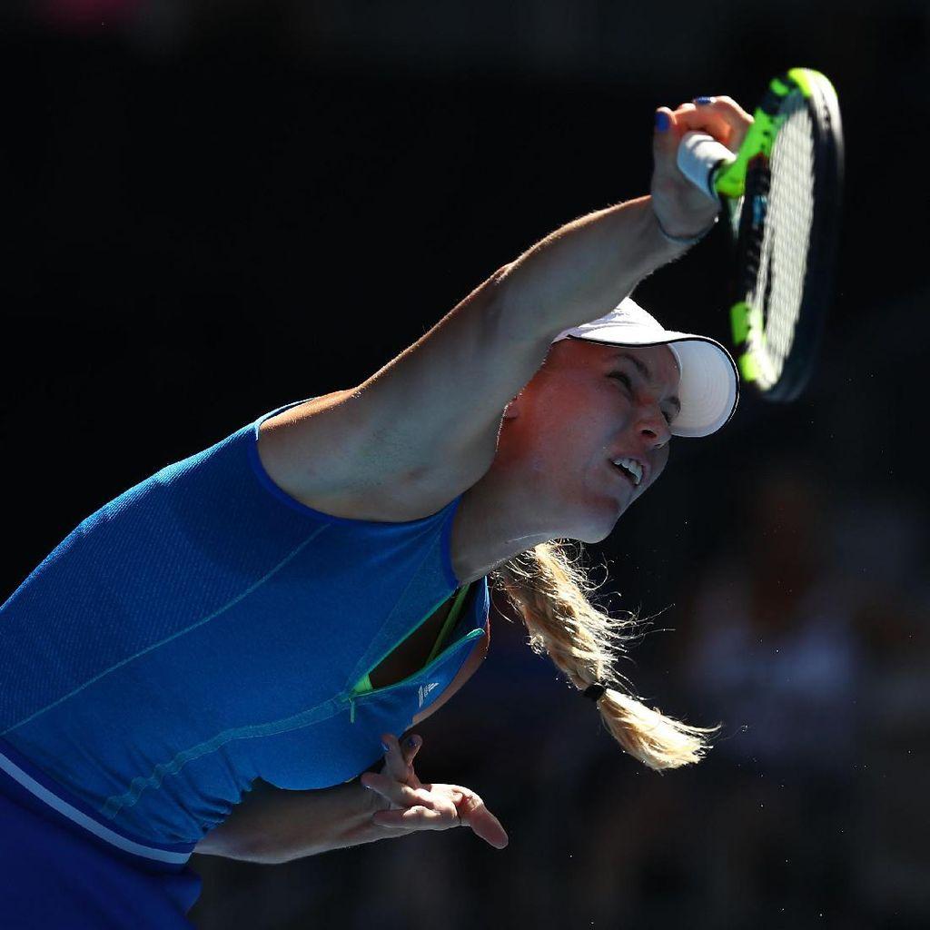 Wozniacki Hanya Kehilangan Tiga Gim