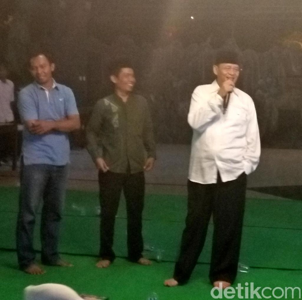 Cagub Banten Wahidin Terus Gencarkan Kampanye di Tangerang Raya