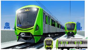 Penampakan Kepala Kereta MRT Jangkrik yang Disoal Sumarsono