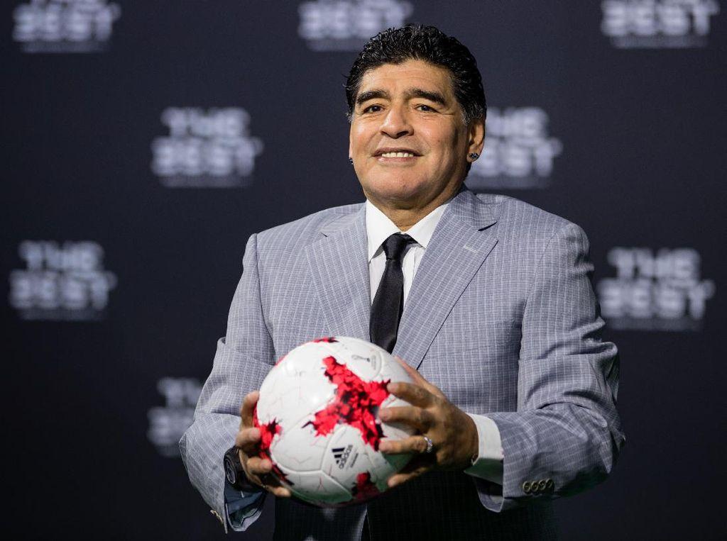#RIPMaradona, Duka Netizen Atas Kepergian Sang Legenda