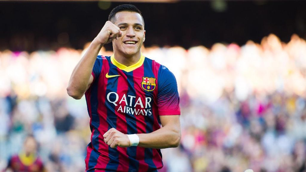 Sanchez Mengaku Gelapkan Pajak Saat Main di Barcelona