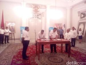 Pemprov DKI Teken MoU dengan PUPR Sediakan Air Minum di Untung Jawa