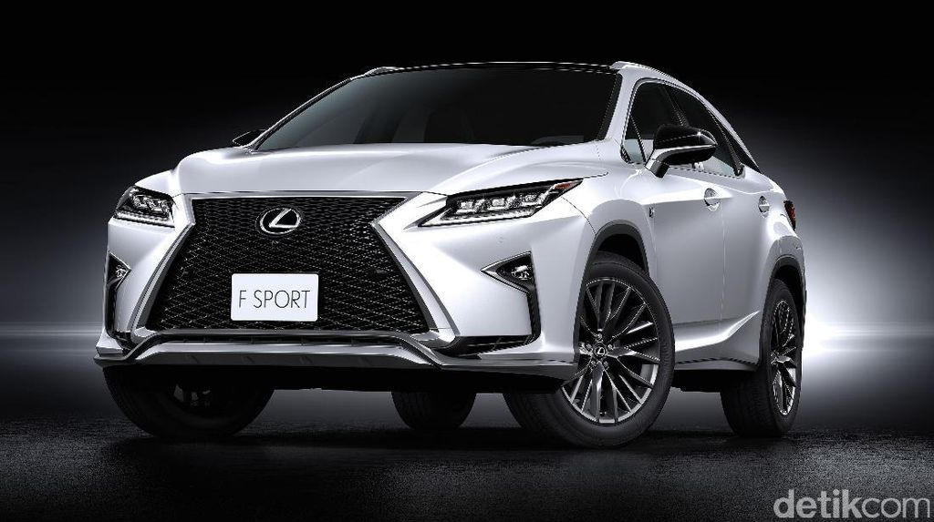 Lexus Luncurkan RX 200t F Sport, SUV Sporty Senilai Rp 1,34 M