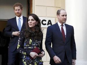 Cantiknya Kate Middleton dengan Gaun Erdem Rp 11 Juta Ini