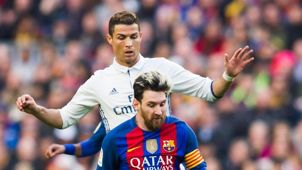 Ronaldo Hebat karena Latihan Keras, Messi Memang Genius