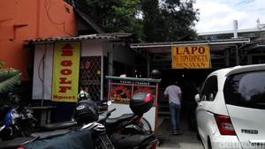 Sentra Kuliner Lapo Senayan Bakal Ditutup