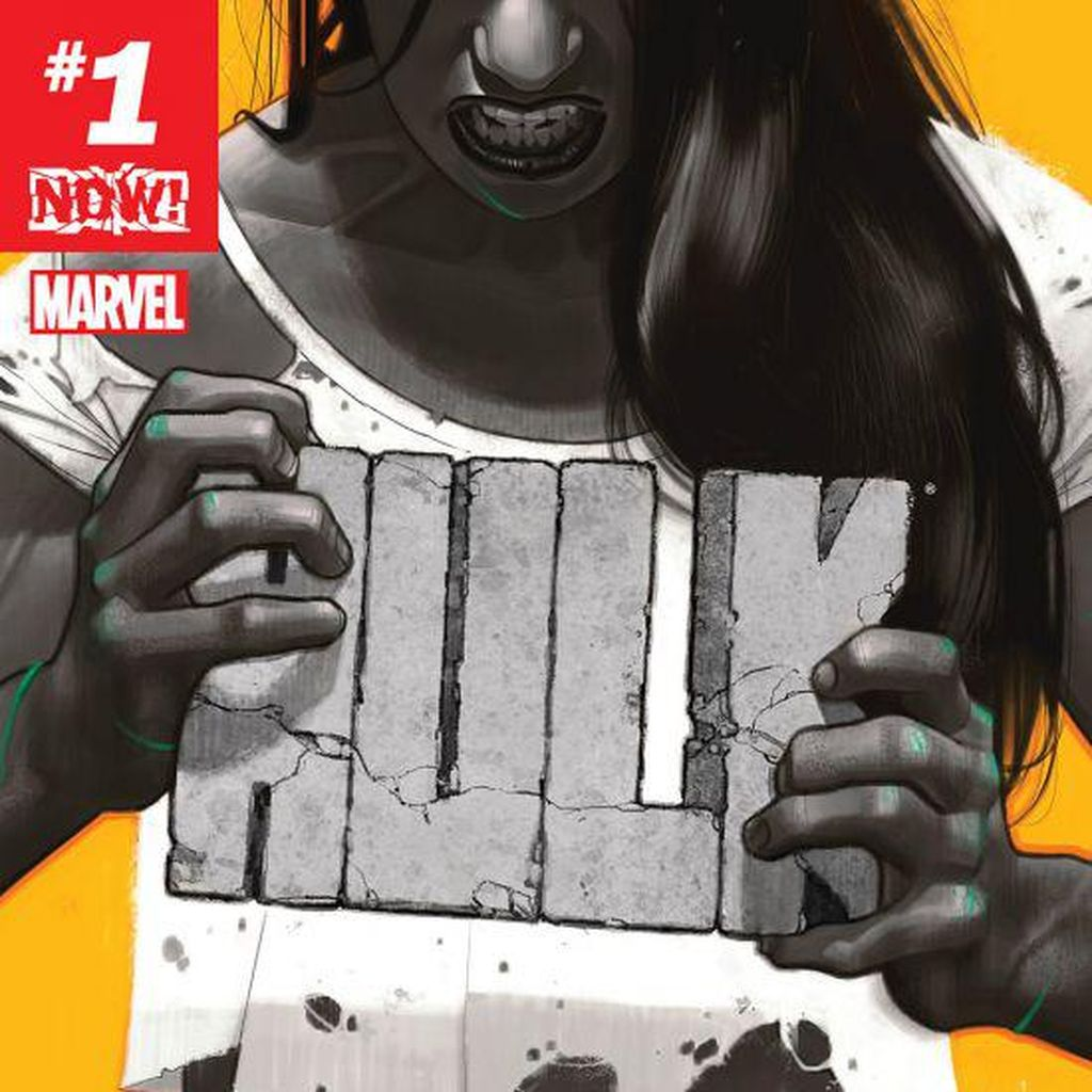 Cerita Hulk Perempuan Ada di Komik Marvel Terbaru!